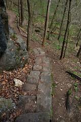 Ha Ha Tonka State Park (Adventurer Dustin Holmes) Tags: statepark steps missouri ozarks stonesteps hahatonka 2015 stonestaircase rocksteps rockstaircase colosseumtrail