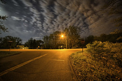 Excelsior Boulevard (Mercenaryhawk) Tags: lake 3 water minnesota night canon stars eos lights long exposure mark iii wing vivid 5d mn hdr minnetonka
