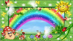 Cartoon -Rainbow