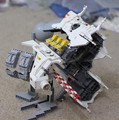 Progress! (Blake Foster) Tags: ship lego spaceship moc afol microscale greeble