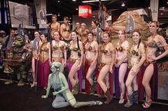SWC 2O15 - 0530 (Photography by J Krolak) Tags: california starwars costume cosplay anaheim leia oola slaveleia twilek leiasmetalbikini