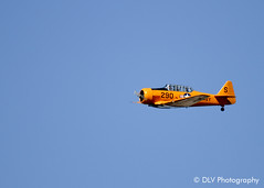 SNJ Texan - Canon EOS 7D / ISO: 100, 1/1000 sec at f/5.6, 400 mm (dlvphotography) Tags: army navy airshow marines airforce militaryaircraft snjtexan