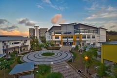 UiTM Pasir Gudang (Shamsul Hidayat Omar) Tags: sunset photography high nikon scenery university dynamic scene mara malaysia omar range hdr johor pasir facilities universiti uitm gudang hidayat teknologi greatphotographers shamsul photoengine oloneo d800e