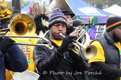 Zulu Social Aid and Pleasure Club (jogiporche) Tags: colors colorful coconut band trumpet parade mardigras zulu fattuesday trumpetplayer marchigband