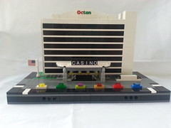 Mini Scale MOC (jlego8109) Tags: scale lego mini casino custom buliding moc octan miniscale