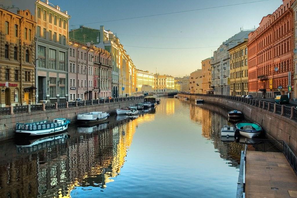 St. Petersburg white night
