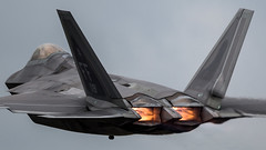 F-22A Raptor (Steve Cooke-SRAviation) Tags: airplane display jet aeroplane airshow f16 vulcan 500 usaf redarrows raf mig fairford riat 2016 warplanes f22raptor stealthfighter sraviation canonstevecooke