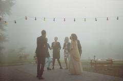 Film XXV : 2016 (Paula Zaria) Tags: zenit analog 35mm photo photography oldschool dance wedding fog mist morning bulb garland love