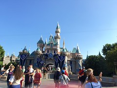 "Disneyland presents Sleeping Beauty Castle (Charles ""The Disney Genius"" Brown) Tags: sleepingbeautycastle lechteaudelabelleauboisdormant anaheim california mainstreetusa fantasyland disneyland"