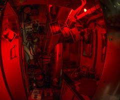 Pre-digital submarine (Ian@NZFlickr) Tags: submarine onslow darling harbour sydney australia