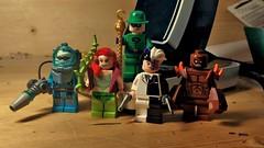 Bat Villains (LordAllo) Tags: dc lego ivy freeze batman poison riddler villains twoface clayface
