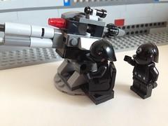 Fire!! (nz-brickfan) Tags: lego legostarwars starwars deathstar minifigs