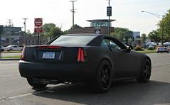 Cadillac XLR-V (RudeDude2140a) Tags: black sports car convertible cadillac exotic matte xlrv