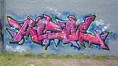 One building, one idea! ( 565th picture of the same building ) (tusuwe.groeber) Tags: projekt project lovelycity graffiti germany lowersaxony oldenburg streetart niedersachsen farbig farben favorit colourful colour sony sonyphotographing nex7 bunt red rot blue blau sport sportsclub jujutsu jujitsu bloherfelde tusbloherfelde art gebude building lila purple lilac violet violett sporthalle sportshall funkyfresh