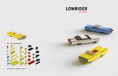Tiny LEGO Wonders - Lowrider (drdavewatford) Tags: legobook microscale nostarchpress