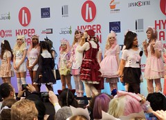 Hyper Japan 2016 19 (Terterian - A million+ views, thanks.) Tags: kensington london capital city uk olympia victorian exhibition centre venue hyper japan 2016 july japanese nippon nipponese culture pastel childlike innocent costume tradition festival art music martial pretty beautiful sexy lolita lollita girls female woman attractive happy smile alternative fashion fashionable models show parade
