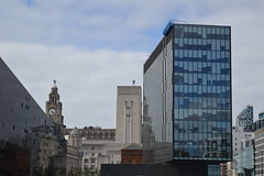 Old and new Buildings (lcfcian1) Tags: old new buildings oldandnewbuildings liverpool royal liver building