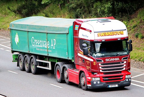 SCANIA R560 V8 - SWINNERTON Adbaston Staffs.