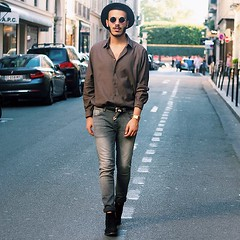 LET ME TELL YOU THE STORY by Badr D., Fashion Blogger from Paris, France (9lookbook.com) Tags: blogger chic france frenshstyle jules lookbook luxury men menstyle menswear ootd orange outfit paris parisian parisianblogger parisianmoon sachashoes street streetstyle style zara fossil