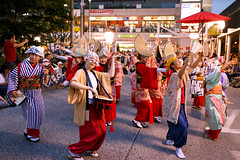 Koganei Awaodori 2016 (Apricot Cafe) Tags: awaodori japan kimono koganeiawaodori musashikoganei nihoren sigma35mmf14dghsm tokyo dancing festival groupofpeople groupperformance instruments outdoors parading traditionalclothes traditionalfestival koganeishi tkyto jp img643549