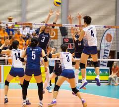 27252166 (roel.ubels) Tags: volleybal volleyball nederland oranje holland zuidkorea southkorea rotterdam topsportcentrum sport topsport 2016