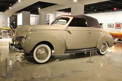 The New Petersen Automotive Museum (USautos98) Tags: mercury convertible coupe 1939 merc