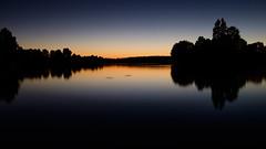 Lac de Soustons, couch de soleil - Soustons' Lake, sunset (py_large) Tags: x100t france soustons sunset couch de soleil lac