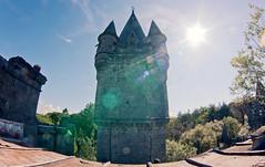 Château de Noisy (Michal Jeska) Tags: château de noisy miranda celles namur urbex urban exploration abandoned castle belgium ardennes schloss zenitar 16mm fisheye fischauge russian soviet lens