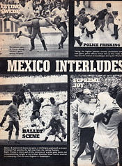 Goal Magazine - 27/06/1970 - Page 12 (The Sky Strikers) Tags: goal magazine world cup special mexico 1970 greatest soccer weekly magzine 1s 6d