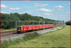 Returning to Sender (Resilient741 Photography) Tags: royal mail class 325 emu 325006 slindon staffordshire wcml west coast main line postal unit electric multiple 5z21 5z22 train trains railway railways