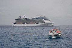 Equinox anchored off Georgetown (aktoews) Tags: grandcayman caymanislands caribbean cruise equinox celebritycruises