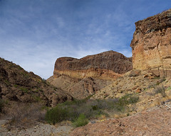 Burro Mesa Pour Off Trail - Big Bend National Park, Texas