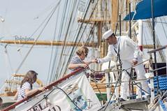 Regata de Grandes Veleros - Cdiz 2016 (Roferfrann) Tags: tallships velero grandesveleros simn bolivar buque escuela boat marinero turistas sailor turists cdiz race regata 2016 ayuda help
