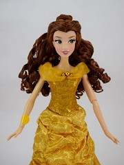 2016 Singing Belle 16 Inch Doll - US Disney Store Purchase - Belle Deboxed - Standing - Midrange Front View (drj1828) Tags: us disneystore belle beautyandthebeast singing 16inch 16 lightup interactive 2016 purchase deboxed standing