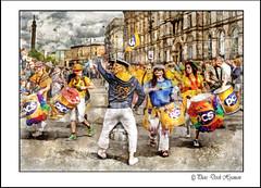 IMG_1552 -impression (Derek Hyamson) Tags: hdr impression candid parade people drummers pride liverpool 2016