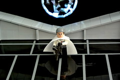 Rogue One - Krennic (Disco86) Tags: lego moc star wars rogue one krennic death trooper fllor led light moon greebles shine