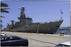 Van Amstel, Malta (wilstony1) Tags: warship dutch harbour malta valetta sea gf1