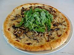 Mushroom Pizza (knightbefore_99) Tags: vancouver eastvan hastings strathcona brewing craft beer tasting room west coast bc canada pacific bar pub mushroom pizza