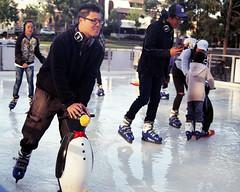 Spring Skating (Francis Johns) Tags: pentax mesuper skating iceskating film fujicolorc200 chippendale sydney 35mmfilm penguin
