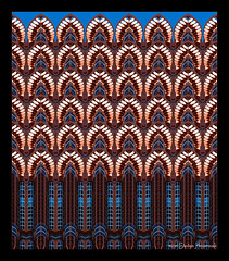 Miami Art Deco Modern (GAPHIKER) Tags: portofinotower portofino tower miami beach florida miamibeach 500southpointedr 500southpointe art pattern artdeco surreal