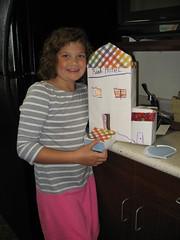 Grabill Branch homeschool craft challenge.  The challenge was making a box city. (ACPL) Tags: fortwaynein acpl allencountypubliclibrary grabill grb homeschool craftchallenge 2016 september2016