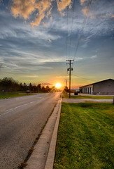 The Sun Sets on the Weekend (kendoman26) Tags: hdr nikhdrefexpro2 nikon nikond3300 tokinaatx1228prodx tokina1228 tokina sunset sky morrisillinois