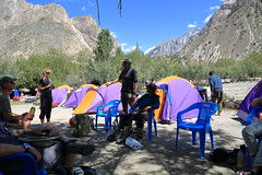 Relaxing at Saitcho Camp, Pakistan (Rowan Castle) Tags: img5651