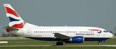 Boeing 737-59D G-GFFD (707-348C) Tags: dublin eidw dub boeing b735 airliner jetliner passenger britishairways boeing737 ggffd baw dublinairport
