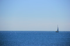 Seaside (Manou7-3) Tags: sea mer landscape grande seaside bleu ciel paysage voilier motte