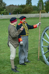 Royal Artillery (artillerysociety) Tags: festival nikon rehearsal weekend event waterloo national trust cannon artillery historical society muster association ickworth d600 napoleonic reentactment