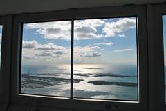 Lake Ontario (Cocamacola) Tags: sun lake toronto nikon cntower view framed lakeontario skypod