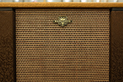 Amplifier at f/3.5 - Sharpness and vignetting test