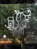 10Foot (Alex Ellison) Tags: urban graffiti boobs tag graff phonebox westlondon glassetch 10foot