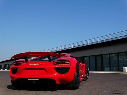 Porsche 918 Spyder in Monaco